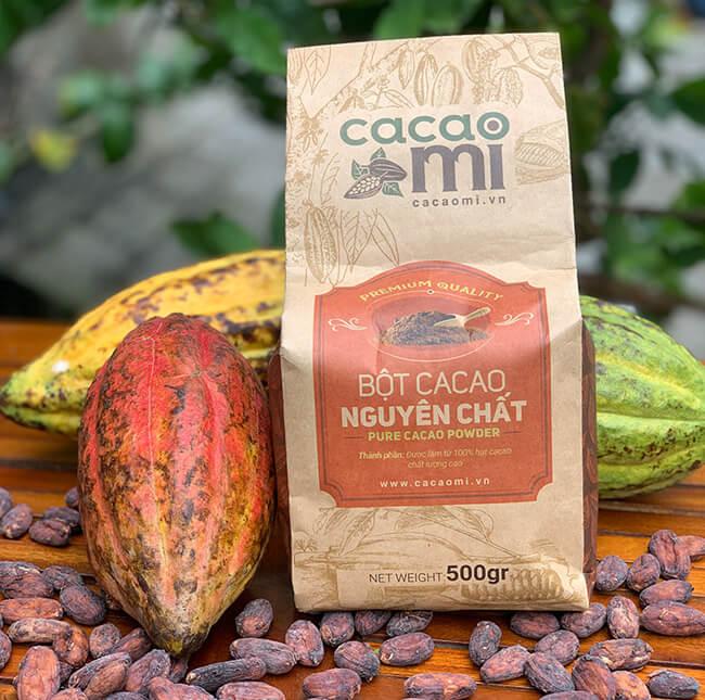 Công dụng của bột cacao là gì?