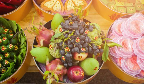 Mâm hoa quả
