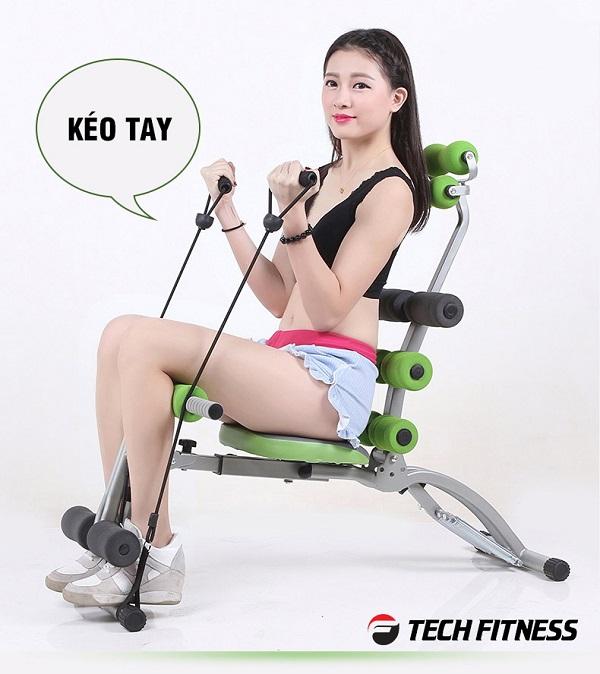 Máy tập giảm mỡ bụng Tech Fitness TF-03