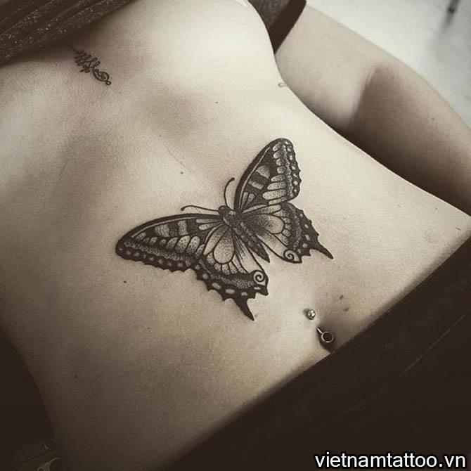 Hình xăm cánh bướm