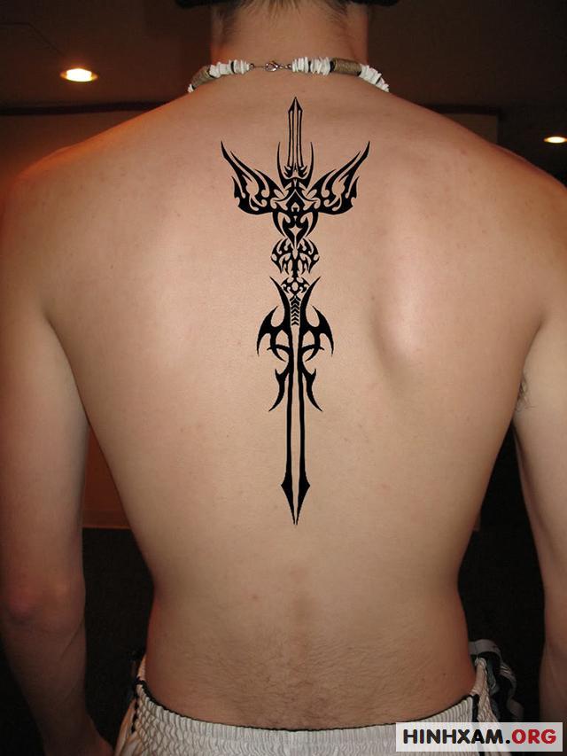 Hình xăm thanh kiếm