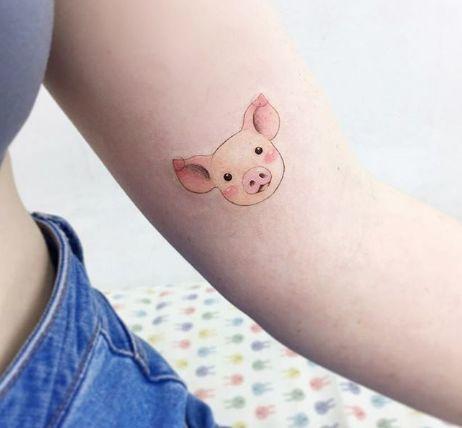 Hình xăm con lợn