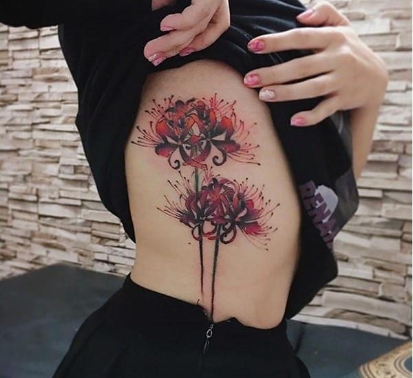 Chia sẻ mẫu hình xăm hoa bỉ ngạn đẹp nhất của nữ giới