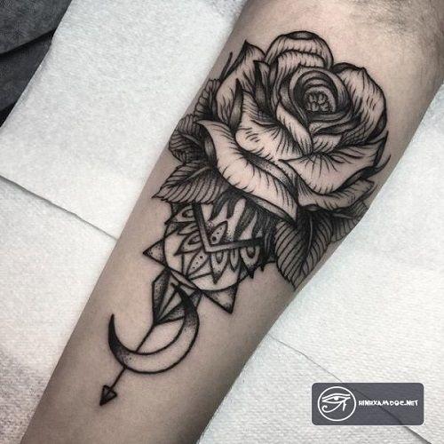 Tuyệt vời hình xăm hoa hồng nam đẹp nhất!