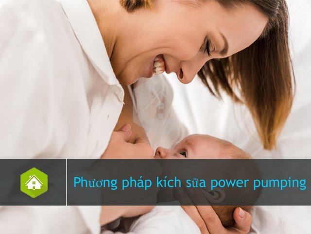 Phương pháp kích sữa power pumping & Những lưu ý khi thực hiện tại nhà cho mẹ