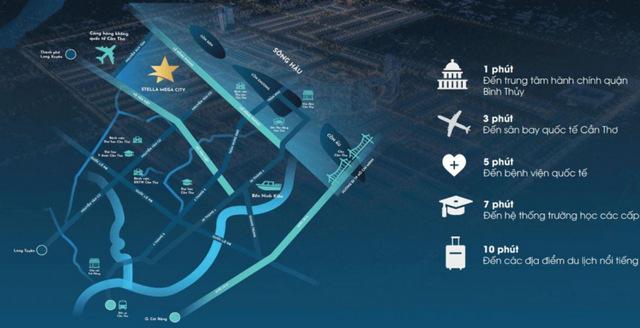 Hình ảnh quy hoạch dự án khu đô thị Stella Mega Cần Thơ