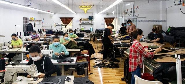 Xưởng Leathermen có quy mô sản xuất lớn