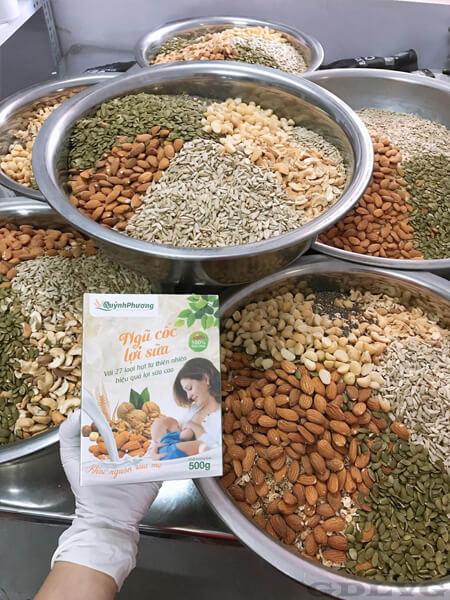 Review bột ngũ cốc lợi sữa Quỳnh Phương có tốt như lời đồn?